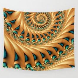 Fractal Splendor, Modern 3D Art Wall Tapestry