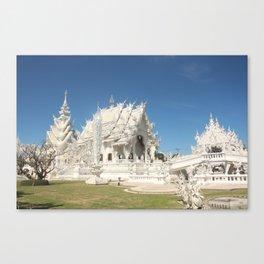 The Majestic White Temple Canvas Print