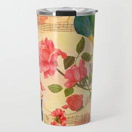 Songs and Birds Travel Mug