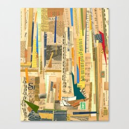 Collage One Canvas Print