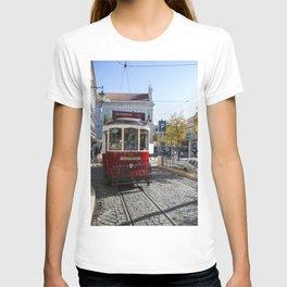 Lisbon, tram T-shirt