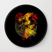 alchemy Wall Clocks featuring Alchemy by Coffeewatson