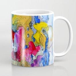 Girl in colorful  Coffee Mug