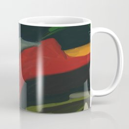 Lessons To Learn Abstract Landscape Coffee Mug