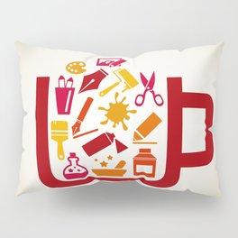 Art a cup Pillow Sham