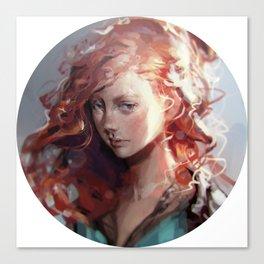 Young Sabetha Canvas Print