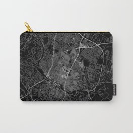 Austin Black Map Carry-All Pouch