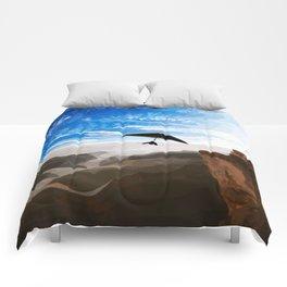 Hang gliding Comforters