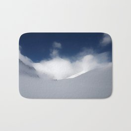 White Mountain Winter Bath Mat