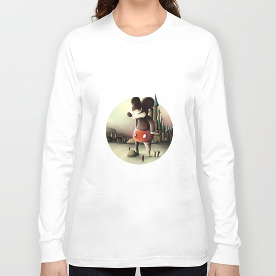 Mickey's Kingdom Long Sleeve T-shirt