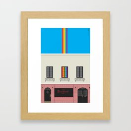 where it started Framed Art Print