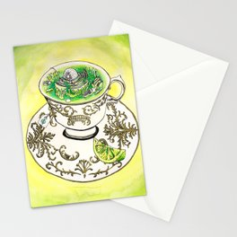 A Nice Hot Cup of Mitochondria Stationery Cards