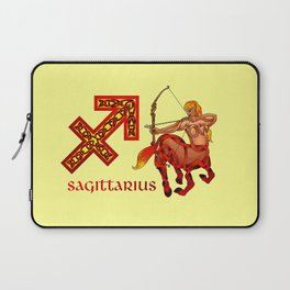 Sagittarius Knot Laptop Sleeve