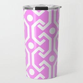 Ethnic Pattern (Pink) Travel Mug