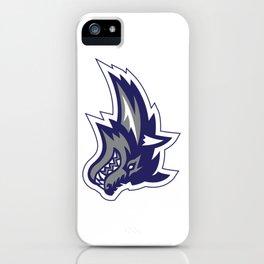 Snowflake Lobo iPhone Case