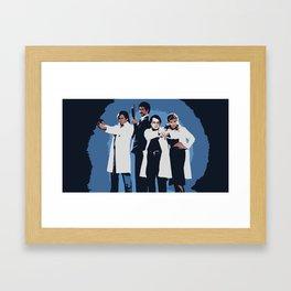 A Darkplace Garth Goes Framed Art Print