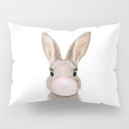 Bubble Gum Rabbit Pillow Sham