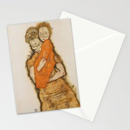 "Egon Schiele ""Mother and Child"" Stationery Cards"