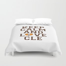 LOVE CLE BROWNS II Duvet Cover