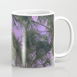Purple Sky Palms Coffee Mug