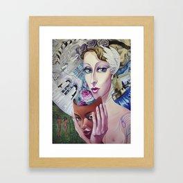Lady Europe Framed Art Print