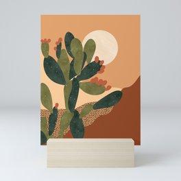Prickly Pear Cactus Mini Art Print
