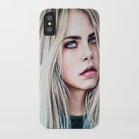 cara iPhone & iPod Cases featuring CARA by Laura Catrinella
