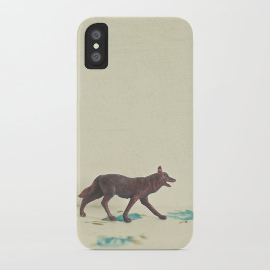 Wandering Wolf iPhone Case