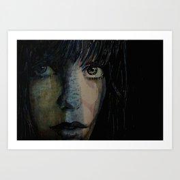 Periode bleue Art Print