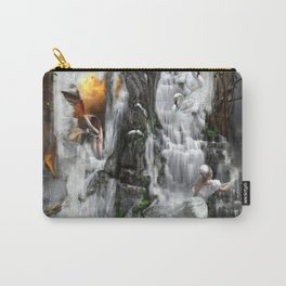 'PEACE IS THE RIVER OF LIFE' Carry-All Pouch