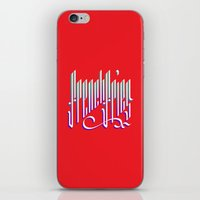 french fries iPhone & iPod Skins featuring French Fries by makesake