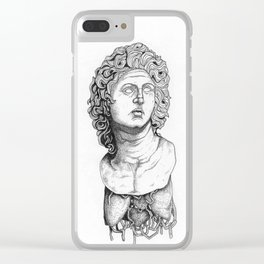 Living Statue Clear iPhone Case