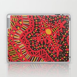 Doodle 16 Red Laptop & iPad Skin