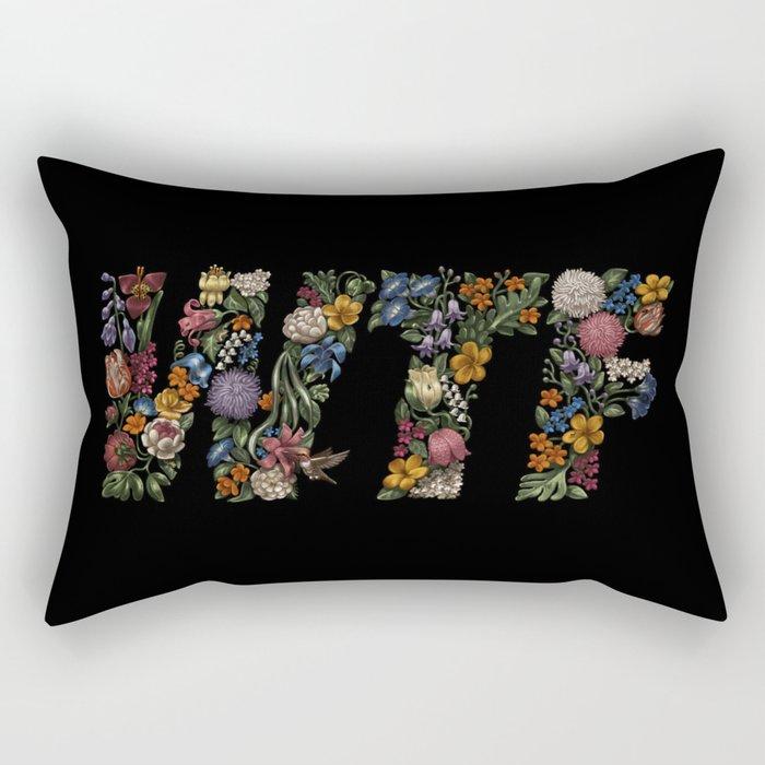 Water the Flowers Rectangular Pillow