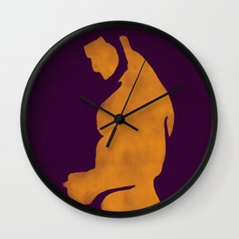 Texting lover Wall Clock