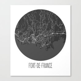 Fort-de-France Canvas Print