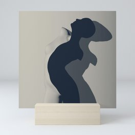 Shadowplay Mini Art Print
