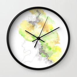 Scandi Micron Art Design   170412 Telomere Healing 24 Wall Clock
