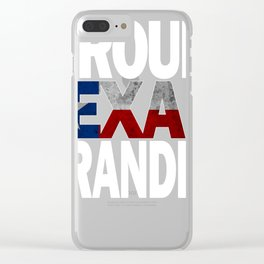 Texas Design For Grandpa Proud Texan Gift Clear iPhone Case
