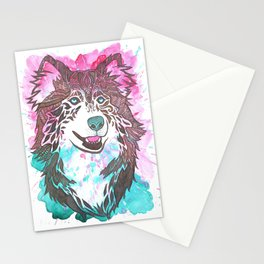 What a Husky  Stationery Cards
