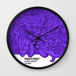 Pantone Ultra Violet 2018 Wall Clock