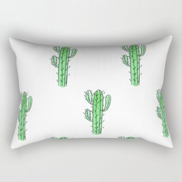 Saguaro Love II PATTERN Rectangular Pillow