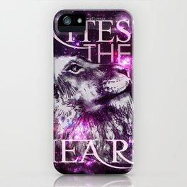 Galaxy Lion iPhone Case