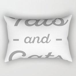 Tats and Cats Rectangular Pillow