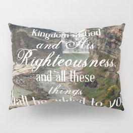 Seek First Pillow Sham