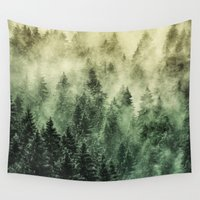 hiking Wall Tapestries featuring Everyday // Fetysh Edit by Tordis Kayma