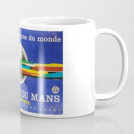 24hs Le Mans, 1974, original vintage poster Coffee Mug