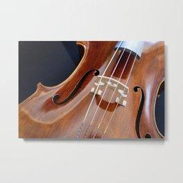Cello Admiration Metal Print