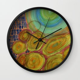 Cosmic Movement In Time And Space Wall Clock