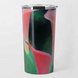 Pink callas Travel Mug
